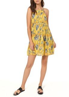 O'Neill Henna Floral Print Woven Tank Dress