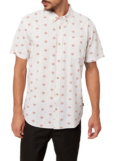 O'Neill Horizon Slim Fit Short Sleeve Button-Down Shirt
