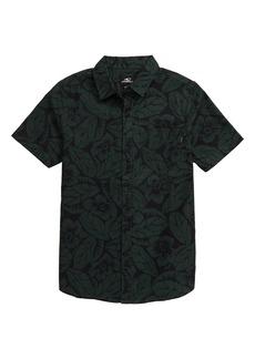 O'Neill Humdinger Short Sleeve Button-Up Shirt (Big Boy)
