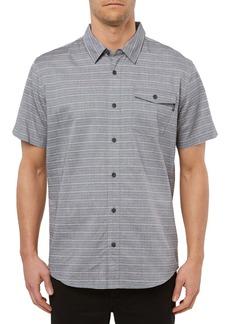 O'Neill Icon Stripe Short Sleeve Button-Up Shirt