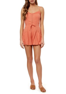 O'Neill Jason Lace Up Romper