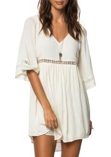 O'Neill Jessika Lace Trim Gauze Dress