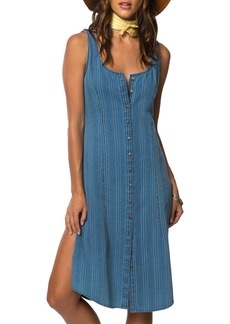 O'Neill Jodie Stripe Chambray Dress