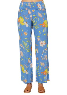 O'Neill Johnny Rio Floral Print Wide Leg Pants