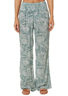 O'Neill Johnny Smocked Wide Leg Pants