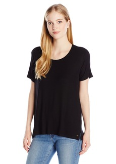 O'Neill Junior's Abbot Basic Scoop Neck Tee