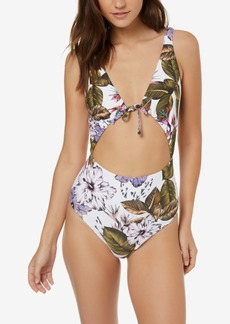 O'Neill Juniors' Allure Paradise Printed One-Piece Swimsuit Women's Swimsuit