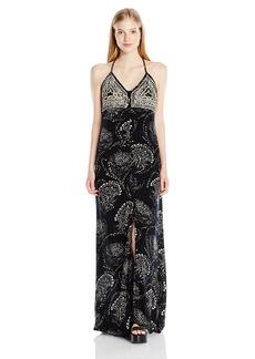 O'NEILL Junior's Anissa Pritned Maxi Dress Black XL