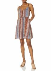 O'NEILL Junior's Anitta Printed Dress Multi Clr/MUL L