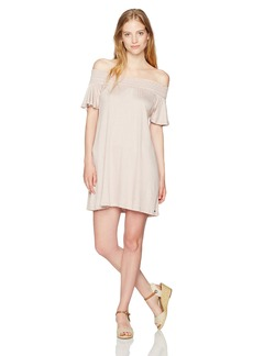 O'Neill Junior's Augustina Off The Shoulder Dress  S