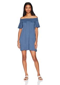 O'Neill Junior's Augustina Off The Shoulder Dress  XL