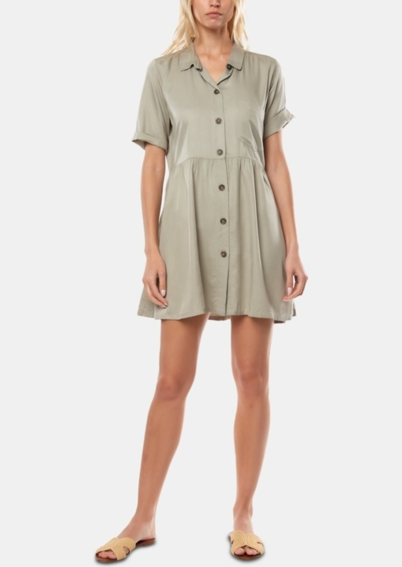 O'Neill Juniors' Bryson Fit & Flare Shirtdress