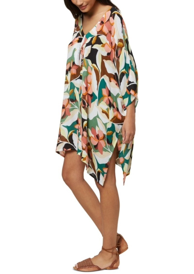 O'Neill Juniors' Calla Printed Cover-Up Dress, Created For Macy's Women's Swimsuit