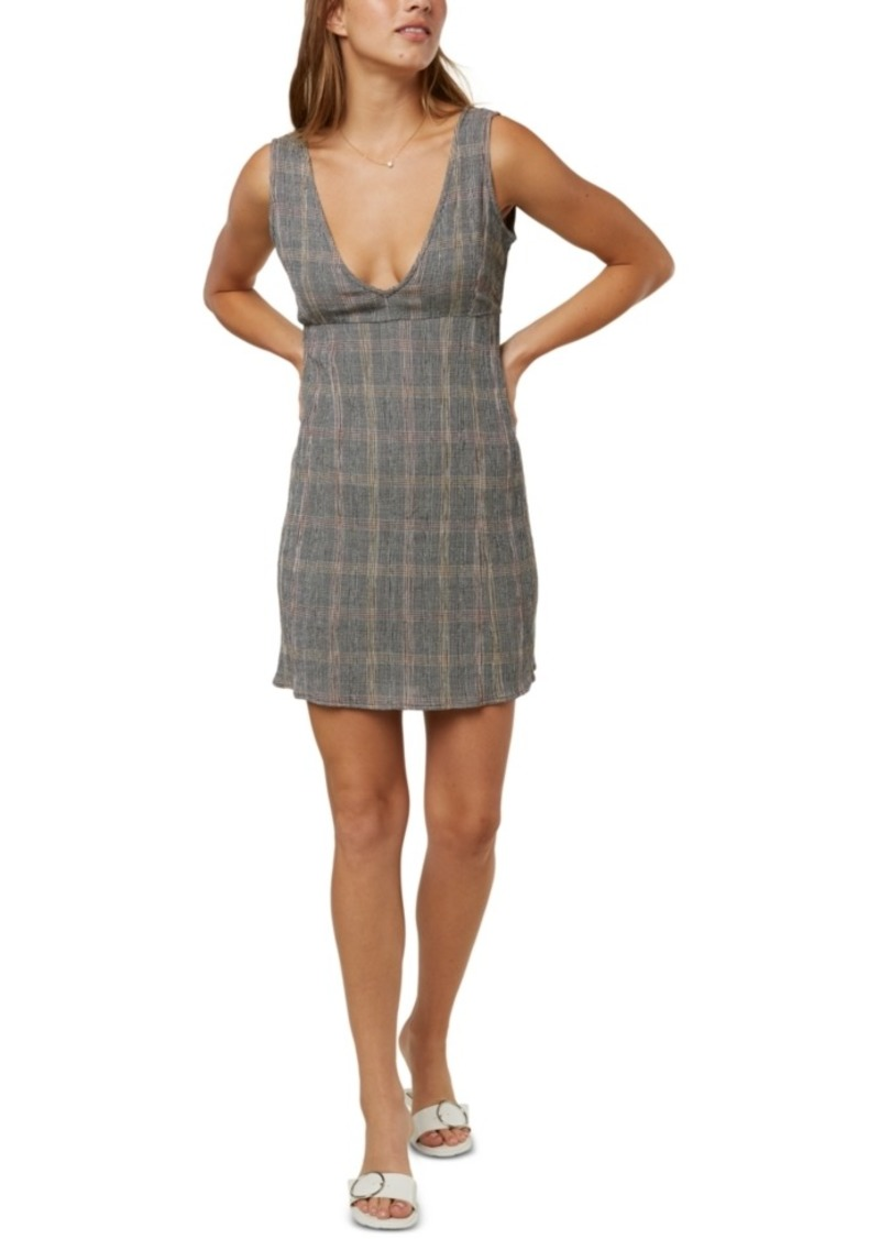 O'Neill Juniors' Celina Plaid Tank Dress