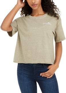 O'Neill Juniors' Cotton Raw-Hem T-Shirt