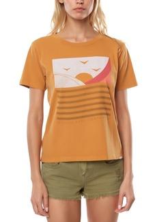 O'Neill Juniors' Cotton Sweet Sets Graphic-Print Boyfriend T-Shirt