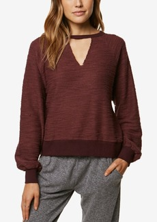 O'Neill Juniors' Cutout Sweater