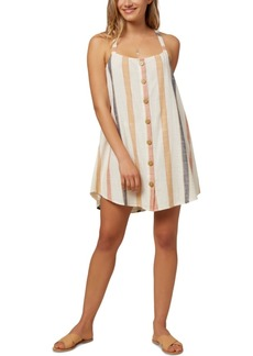 O'Neill Juniors' Dray Cotton Mini Dress