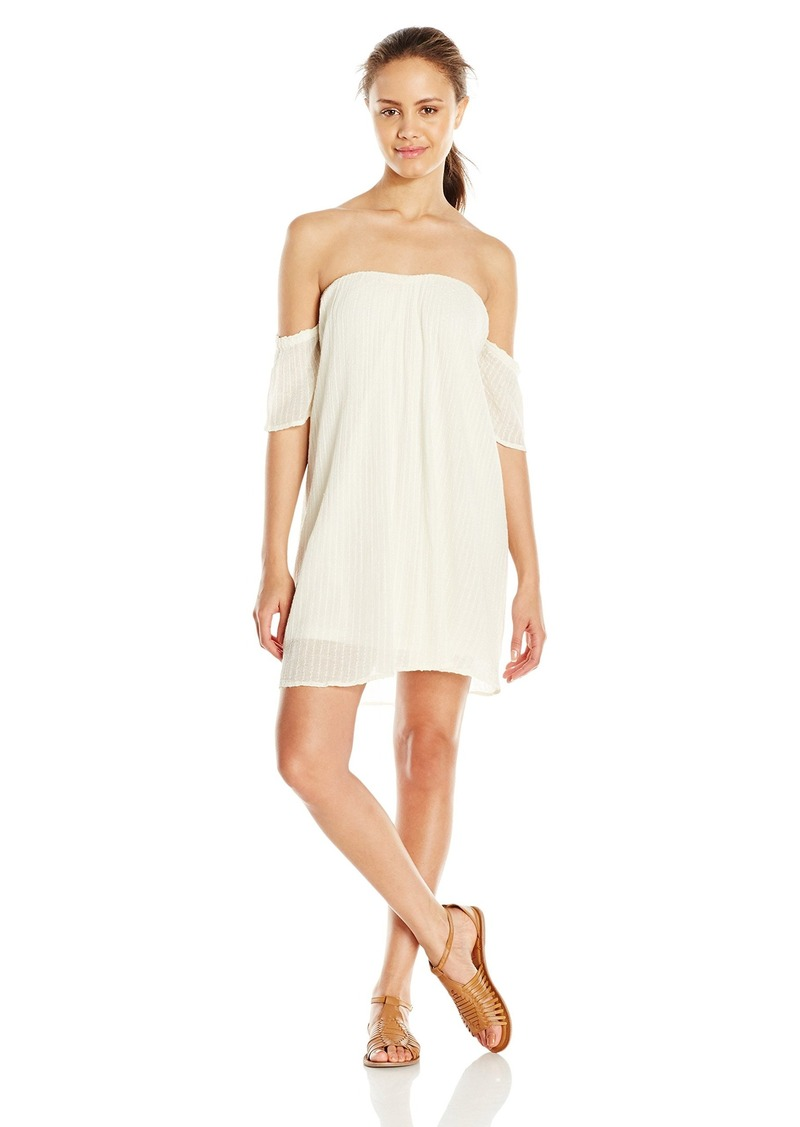 O'Neill Junior's Dutch Off The Shoulder Gauze Dress
