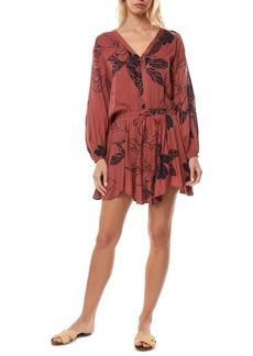 O'Neill Juniors' Floral-Print Dress