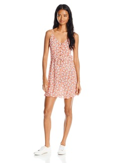 O'Neill Juniors Gabi Floral Woven Tank Dress