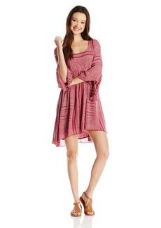 O'Neill Junior's Gina Printed leeved Dress  mall