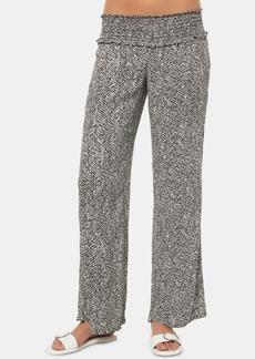 O'Neill Juniors' Johnny Chevron Flare-Leg Pants