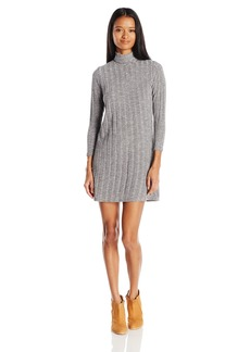 O'Neill Junior's Jovana Turtle Neck Dress Heather Grey/HGR L