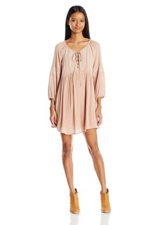 O'Neill Junior's Junie Long Sleeve Shift Dress  L