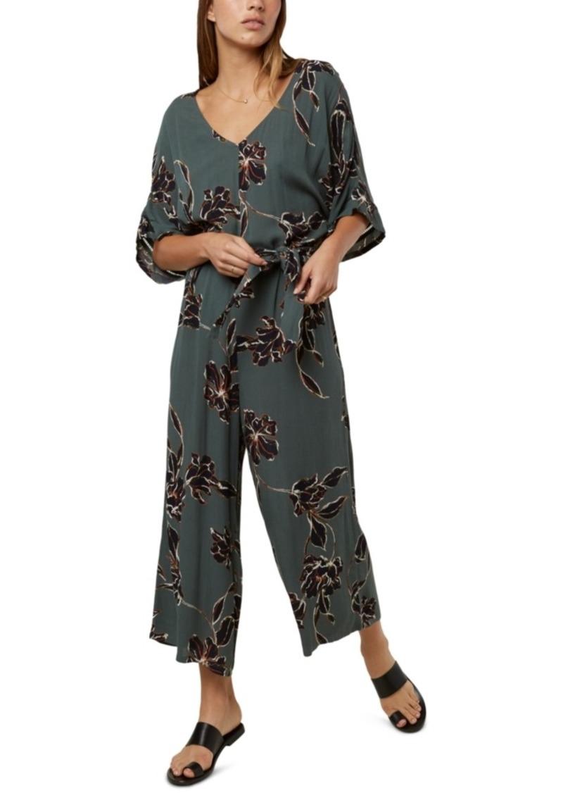 O'Neill Juniors' Kendal Floral-Print Jumpsuit