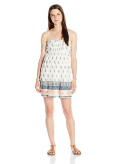 O'Neill Juniors Kiley Woven Printed Dress