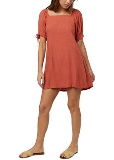 O'Neill Juniors' Kirsten Tie-Sleeve Fit & Flare Dress