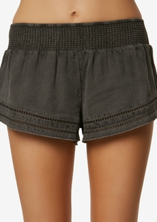 O'Neill Juniors' Lace-Trim Shorts