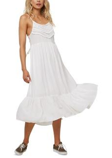 O'Neill Juniors' Lexi Lace-Up-Back Midi Dress