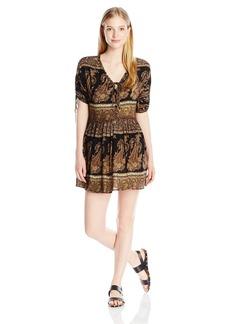 O'Neill Junior's Lottie Printed Woven Dress  L