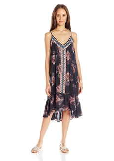 O'Neill Juniors Marquita Printed Gauze Midi Dress