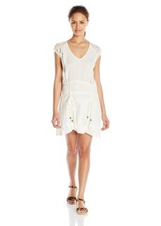 O'NEILL Juniors Mesa Short Sleeve Gauze Dress
