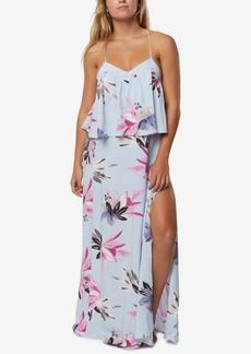 O'Neill Juniors' Milly Popover Slit Maxi Dress