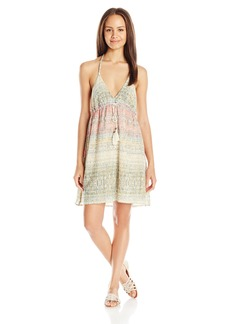O'Neill Women's Juniors Nancy Printed Gauze Dress