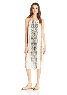 O'Neill Juniors Nicole Printed Woven Halter Dress