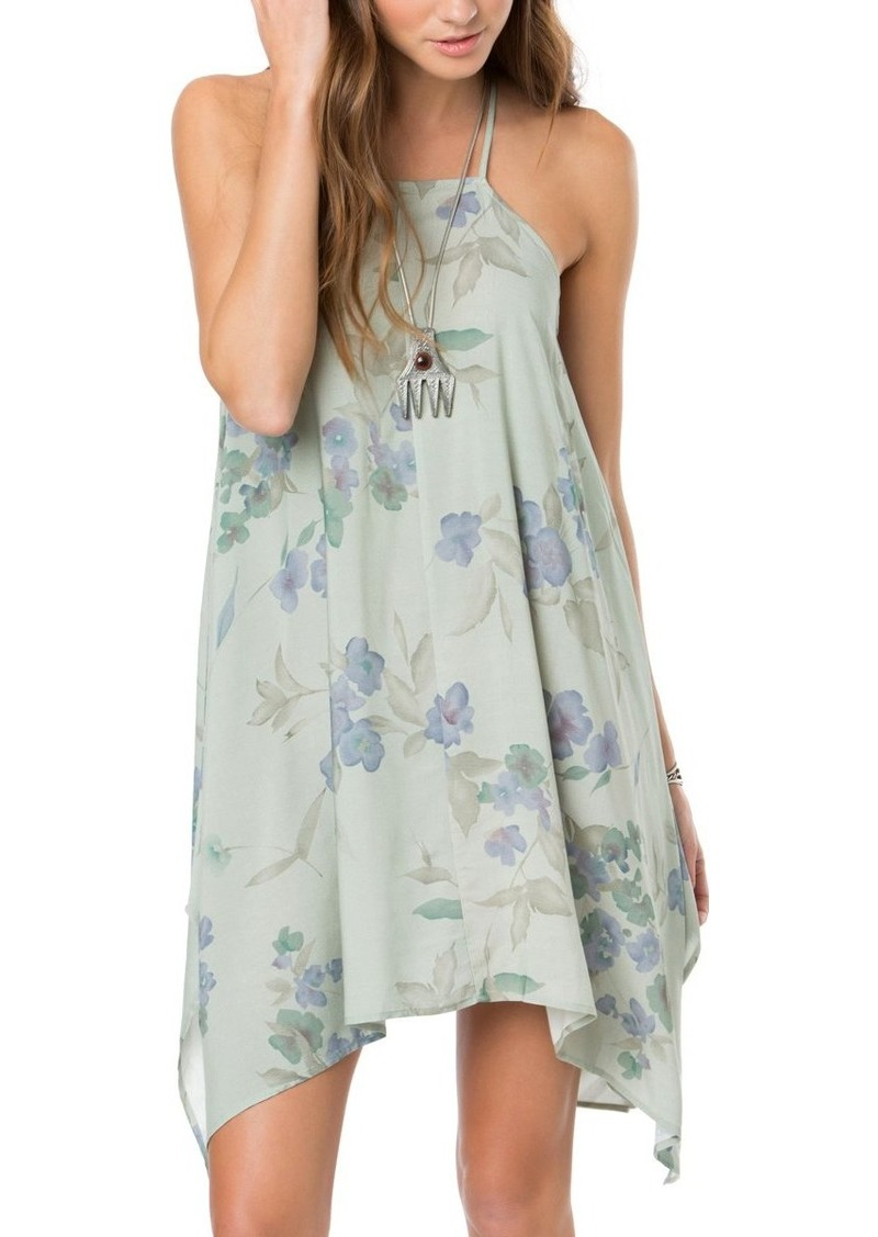 O'NEILL Junior's Nicolette Printed Floral Dress  L