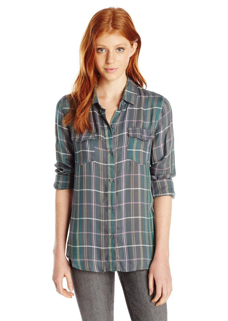 Shop Hurley Juniors' Plaid Shirt online at deletzloads.tk Wrap up your eternally cool look in this plaid shirt from Hurley, styled with a point collar and two pockets at the chest.