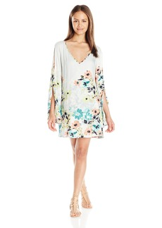 O'Neill Juniors Penny Woven Sleeved Floral Dress