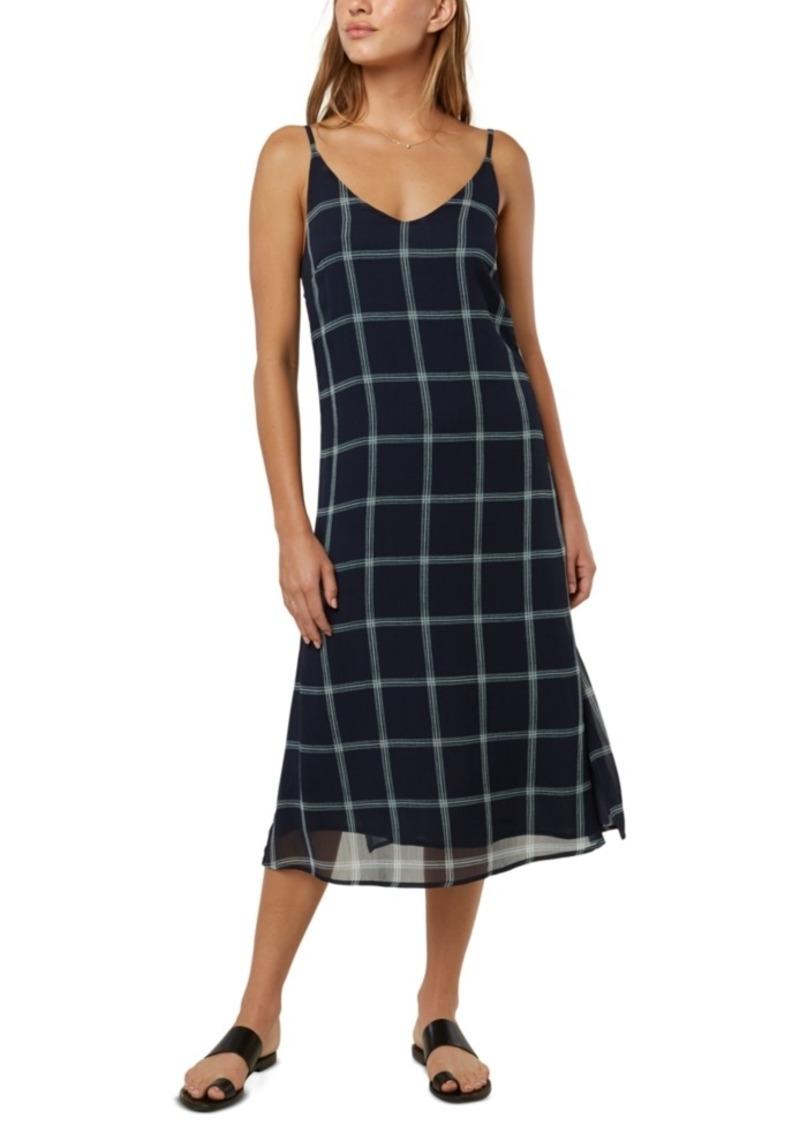 O'Neill Juniors' Plaid Tank Dress