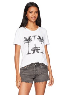 O'Neill Junior's Pretty Palms Screen Print Tee  XS