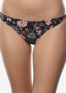 O'Neill Juniors' Printed Side-Tab Bikini Bottoms Women's Swimsuit