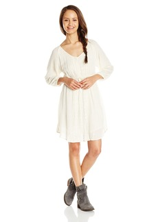 O'Neill Junior's Ramona 3/4 Sleeve Woven Dress
