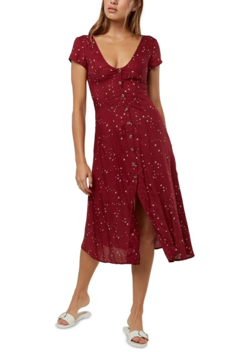 O'Neill Juniors' Rina Printed Midi Dress
