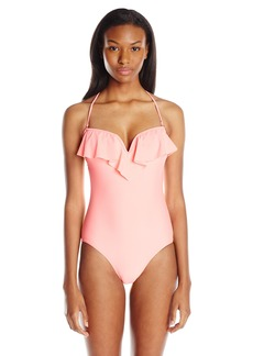 O'Neill Juniors Salt Water Solids One-Piece Swimsuit