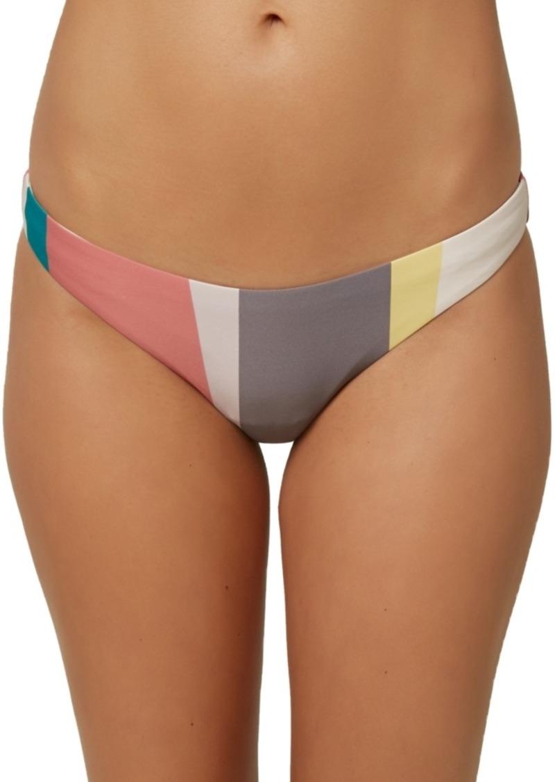 O'Neill Juniors' Sapa Stripe Bikini Bottoms Women's Swimsuit